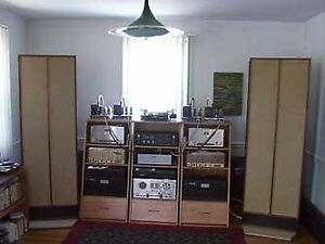WANTED, VINTAGE AND NEWER STEREO EQUIPMENT