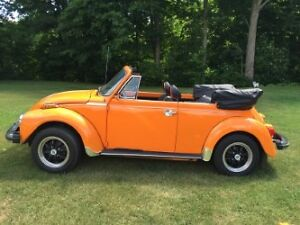 VW Beetle Convertible - 1977