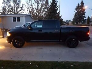 2015 Dodge Power Ram 1500 black out Pickup Truck