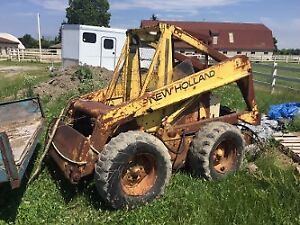 New Holland skid steer L775