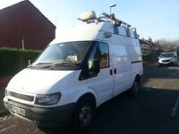 Ford Transit 350MWB high roof top. Excellent condition inside and out.