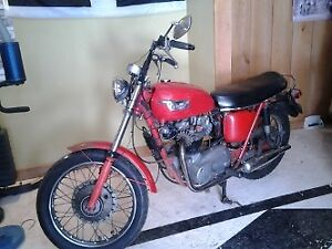 '70 triumph TR6 and other motorcycles for sale