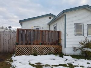 Newly renovated trailer for sale in Gregoire.