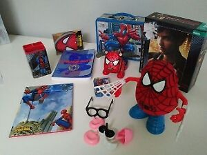 Spider-man lot - 9 items