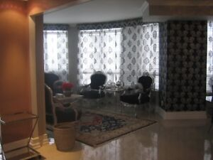 A CORNER FURNISHED3 BED CONDO FOR RENT