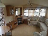DOUBLE GLAZED CENTRAL HEATED CARAVAN SITED ROBIN HOOD NORTH WALES