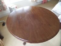 Round Victorian Table.