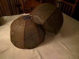 2 Large Rattan Lamp Shades!!