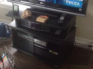 Table TV pivotante