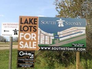 2 Lake Lots South Stoney @ Delaronde Lake