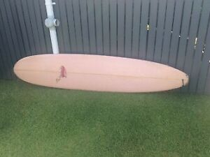 "Beachbeat Surfboard 8ft 6 inches x 22"" x 2 7/8"" incl fins"