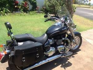 Triumph America 2014 tourer cruiser Lota Brisbane South East Preview