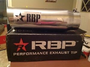 Exhaust tip for sale.