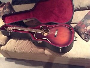 Guitar, Washburn (Monterey-4), 6 string with pick ups, $ 250.00