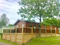 Cambrian Plantation, 2 bed, 40x20 , 2016, double lodge, Low site fees, 12 month season, Gatebeck
