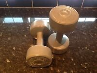 DUMBELL SET - 3KG EACH PRO FITNESS