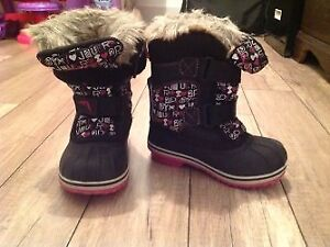 Bottes hiver fille, taille 10