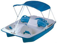 SUN DOLPHIN 5 SEAT PEDAL BOATS