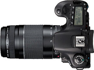 Canon EOS 60D Package including lenses