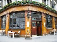 Experienced pub chefs needed.