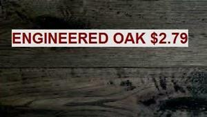 Engineered European Oak - $2.99