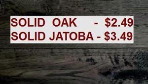 HARDWOOD FLOORING $2.99