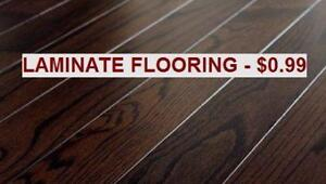 LAMINATE FLOORIN 12.0 mm - $0.99