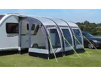 Kampa Rally Air 390 porch awning, 4 years old, only been used twice