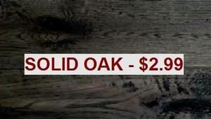 SOLID OAK FLOORING FOR $2.99 ****www.canfloor.com