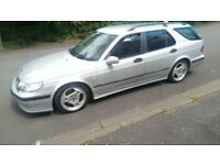 SAAB 95 TURBO AERO HOT ESTATE AUTOMATIC WITH SPORTS MODE 250 BHP GREAT PERFORMANCE WITH COMFORT
