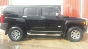 2007 HUMMER H3 Chrome package/leather SUV