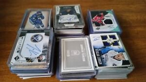 Hockey Cards: Rookie Inserts Lots Cheap PRICE DROP