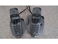 BT dual cordless phone set