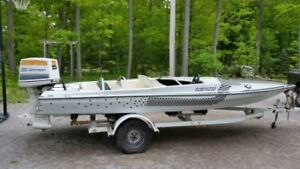 19 Foot Witchcraft Speed Boat 200 HP Johnson motor