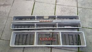 1973 to 1987 gmc grilles