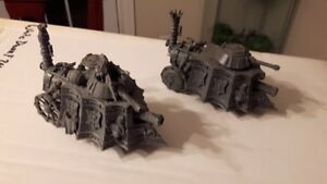 Warhammer Imperial Steam tanks $80 shipped