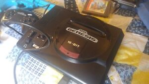 SEGA GENESIS 13 games and blue justifier gun Cornwall Ontario image 4