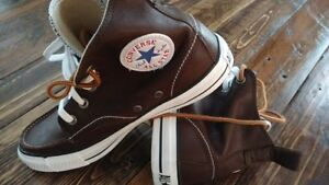 Converse Chuck Taylors High top leather classics (Brand New)