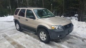 Ford Escape XLT V6 2007 2X4