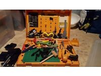 JCB Junior Tool Station (can be used in case or on legs as a tool station)