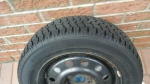 SNOW tires-BLIZZAK set of 4 on rims (205/60R15)
