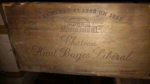 Boîtes de bois