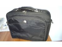 Executive laptop case with shoulder strap - in very good condition