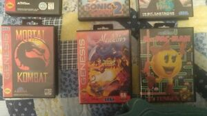 SEGA GENESIS 13 games and blue justifier gun Cornwall Ontario image 2