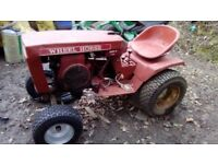 Wheel Horse Mini Tractor