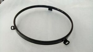 Black headlight securing ring