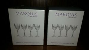 Marquis Wine Glass Set (brand new) 2 boxes availble