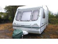 Rapide 380 GXL, 2 Berth Caravan, With Awning
