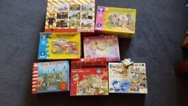 Several Boxed Childrens Puzzles