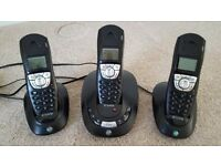 BT Synergy - Triple cordless phone set with answering machine